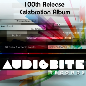 AudioBite 100th Release Celebration Album is out now exclusively at Beatport!
