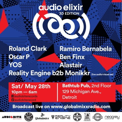 Audio Elixir: A 3D Audio & Visual Experience Movement Afterparty