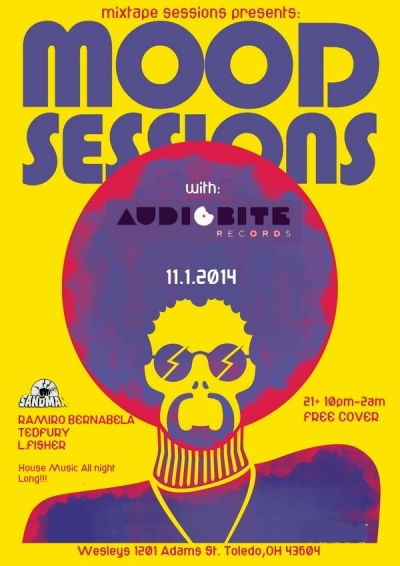 Mood Sessions with AudioBite Records at Wesley's